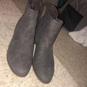 Limelight grey booties